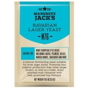 Дрожжи Mangrove Jacks Bavarian Lager M76, 10 гр