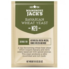 Дрожжи Mangrove Jacks Bavarian Wheat M20, 10 гр