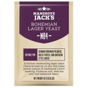Дрожжи Mangrove Jacks Bohemia Lager M84, 10 гр