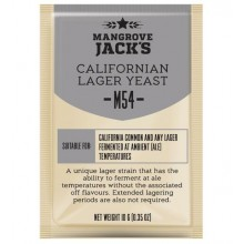 Дрожжи Mangrove Jacks Californian Lager M54, 10 гр