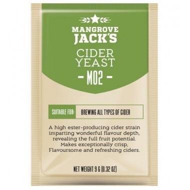 Дрожжи Mangrove Jacks Cider M02, 10 гр