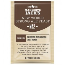 Дрожжи Mangrove Jacks New World Strong Ale M42, 10 гр