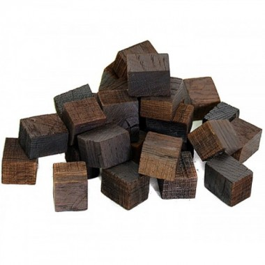 Дубовые кубики сильной обжарки (Кавказ), 100 гр